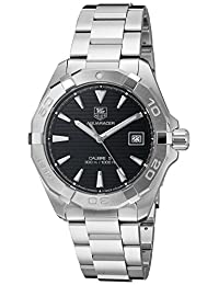 Tag Heuer Men's Aquaracer WAY2110.BA0928 Silver Stainless-Steel Swiss Automatic Watch