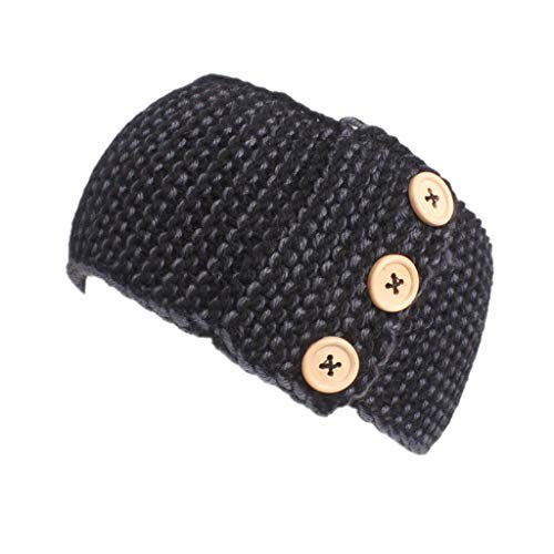 HULKAY Hairbands for Women Upgrade Knitting Elastic Handmade Bow Design Hair ()