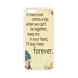 "Customized Winnie the Pooh Hard Case For Apple Iphone 6,4.7"" screen Cases TPUKO-Q843075"