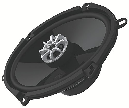 DUB DUBs257 5 x 7 Inches/6 x 8 Inches 280 Watt Coaxial Speaker with 25mm Silk Dome Tweeter