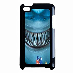 Malicious Finding Nemo Phone Case Cover For Ipod Touch 4th Generation Finding Nemo Fierce Shark