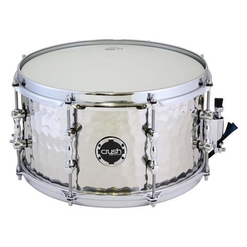 Crush Drums & Percussion HHS13X7S 13-Inch Snare Drum, Steel (Snare Drum Acrylic)