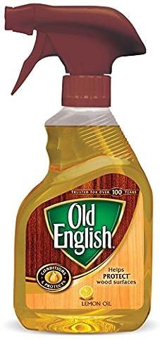 Old English Lemon Oil Furniture Polish, 12 fl oz Bottle (Pack of 2) - Old Wood Furniture