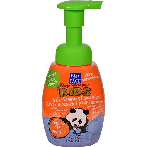 Kiss My Face Kids Hand Wash Self-foaming Orange U Smart - 8 Fl (Smart Foaming Hand Wash)