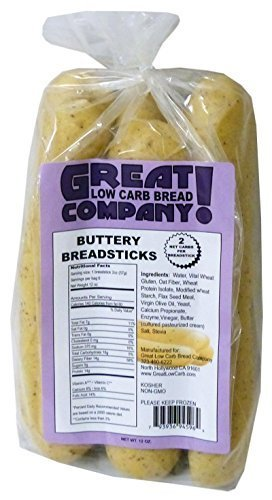 Great Low Carb Buttery Breadsticks by Great Low Carb