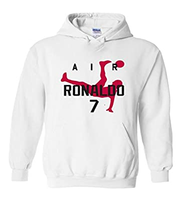 "Cristiano Ronaldo Real Madrid ""Air Ronaldo"" Hooded Sweatshirt"