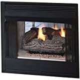 Amazon Com Superior 36 See Thru Wood Burning Fireplace With White