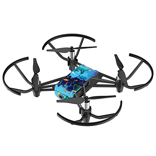 MightySkins Skin for DJI Ryze Tello Drone - Ocean Friends | Protective, Durable, and Unique Vinyl Decal wrap Cover | Easy to Apply, Remove, and Change Styles | Made in The USA