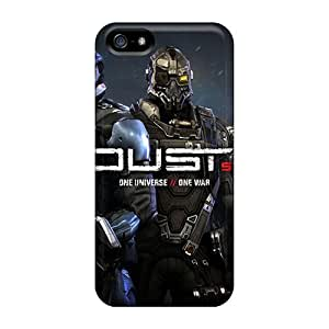 Iphone 5/5s Dust 514 Video Game Tpu Silicone Gel Case Cover. Fits Iphone 5/5s