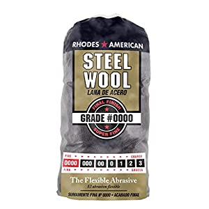 Steel Wool, 12 pad, Assorted Grades, Rhodes American