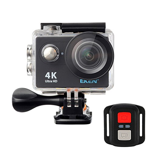 RISHIL WORLD EKEN H9R Sport Action Waterproof Camera 4K Ultra HD 2.4G Remote WiFi Without Live Streaming Function Single Item.