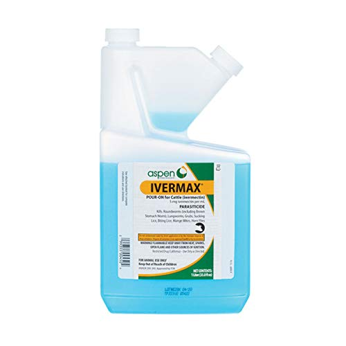 Bimeda Inc Ivermectin Pour-On for Cattle 1000 mL