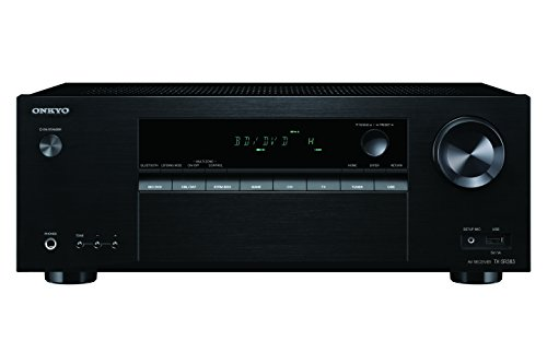 - Onkyo Surround Sound Audio & Video Component Receiver Black (TX-SR383)