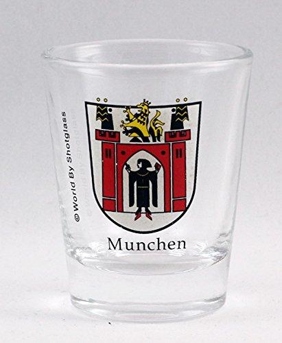 Munchen (Munich) Germany Coat Of Arms Shot Glass