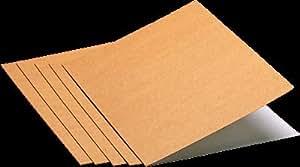 Unisystem caja 50  subcarpetas formato a4 kraft blanco