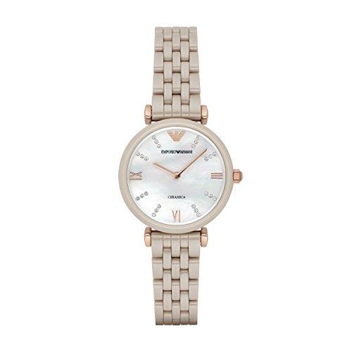 Emporio Armani Women's AR1498 Retro Rose Gold Watch