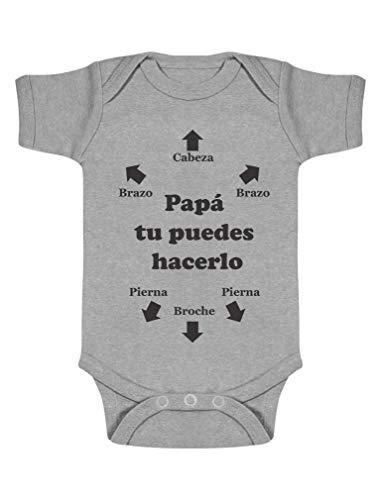Nombre Personalizado Feliz Cumpleaños Papá Bebé y del Niño T-Shirt Top Idea de Regalo