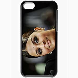 Personalized iPhone 5C Cell phone Case/Cover Skin Aishwarya Rai Black