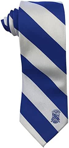 Phi Beta Sigma Fraternity Crest Tie Greek Formal Occasion Standard Length Width Officially Licensed by Coastal Palm