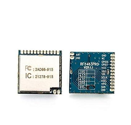 amazon com rf4463pro 100mw wireless transceiver module gsm module ad936x family radioverse analog devices