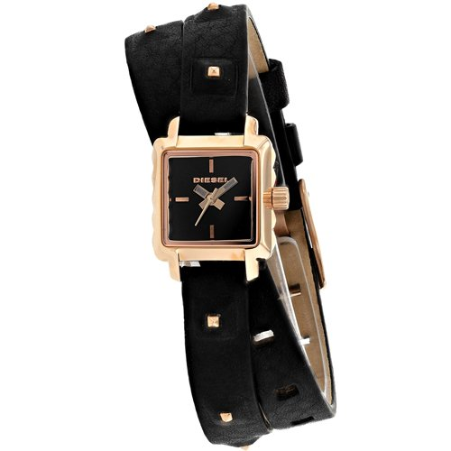Diesel Women's DZ5480 Ursula Analog Display Analog Quartz Black Watch