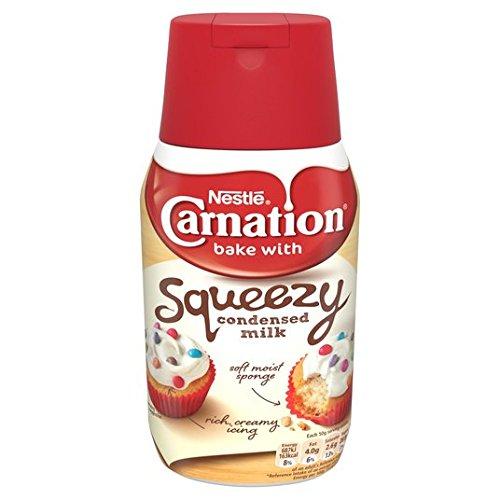 Clavel edulcorada 450g botella de leche condensada Squeezy: Amazon.es: Alimentación y bebidas