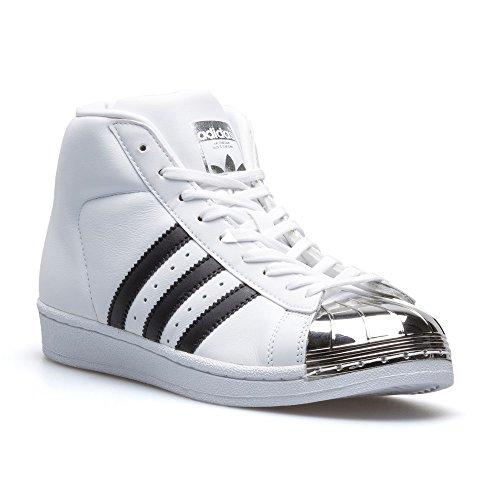adidas - Zapatillas de Material Sintético para mujer blanco Weiß