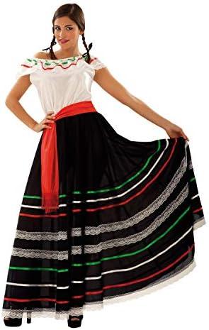 My Other Me Me-203693 Disfraz de mejicana para mujer, S (Viving ...