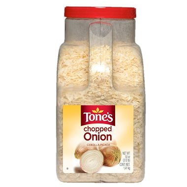 Tone's Chopped Onion (50 oz.) (pack of 6)