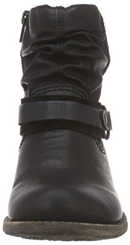 Rieker Femmes Bretelles Noir Schwarz 01 Pour Les De schwarz Cheville UPn6UFpq