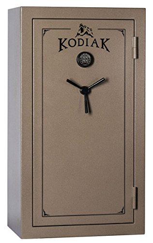 Kodiak K5933EX Gun Safe, 28 Long Guns & 6 Handguns, 550 lbs, 60 Minute Fire Protection, Deluxe Door Organizer and Electronic Lock (21 Best Guns For Home Protection)