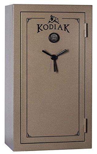 (Kodiak K5933EX Gun Safe, 28 Long Guns & 6 Handguns, 550 lbs, 60 Minute Fire Protection, Deluxe Door Organizer and Electronic)
