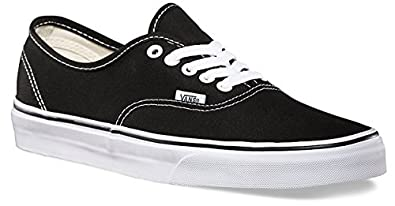 vans authentic shoes black