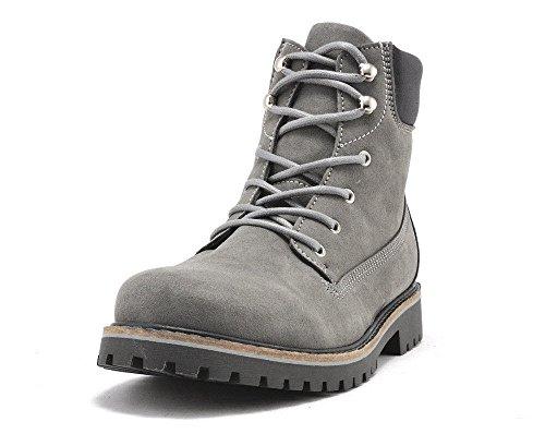 Men's dock boots grey-UK 12 / EU 46 / US 13