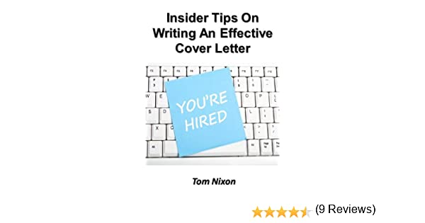 Amazon.Com: Insider Tips On Writing An Effective Cover Letter