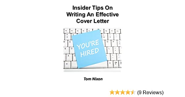 Amazon Insider Tips On Writing An Effective Cover Letter EBook