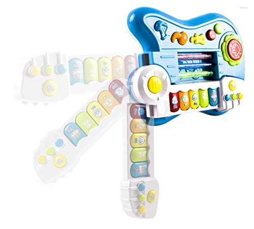 WolVol-3-in-1-Electric-Kids-Guitar-Toy-with-Violin-Stick-and-Piano-Transformation-For-Little-Boys