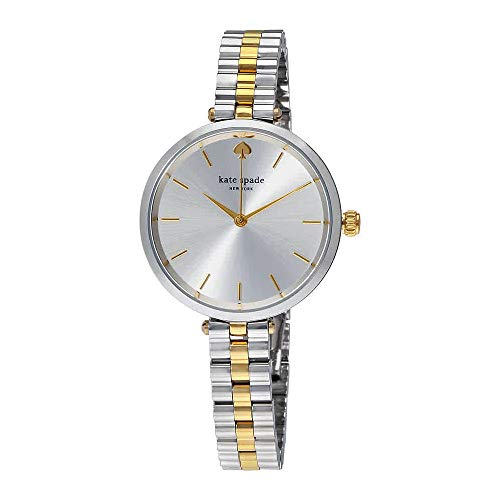 kate spade new york Women's 'Holland' Quartz Stainless Steel Casual Watch, Color:Silver-Toned (Model: KSW1119)