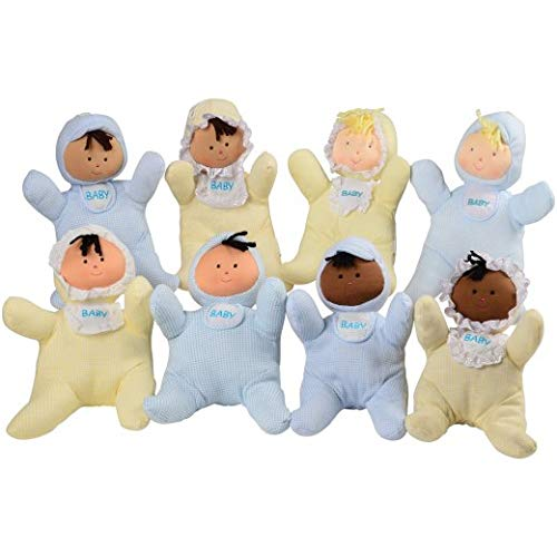 Set of 8 - Ethnically Diverse - Boy & Girl ()