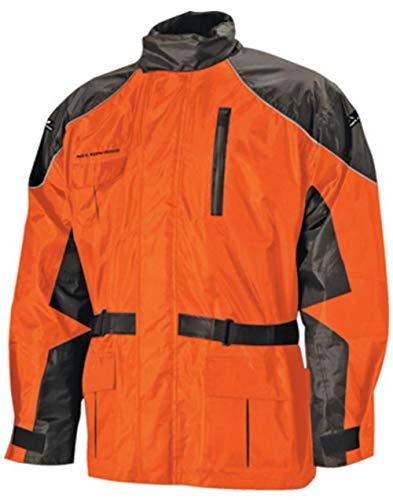 Nelson-Rigg CAS-3000-ORG-06-3XL AS-3000 Aston 2-Piece RainSuit, Gender: Mens/Unisex, Distinct Name: Orange, Primary Color: Orange, Size: 3XL - Nelson Rigg Rainsuit