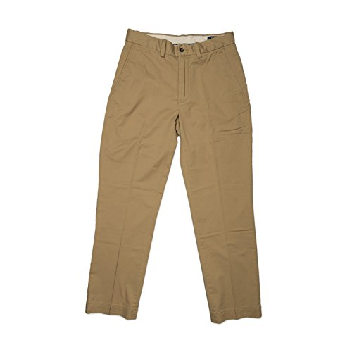 Polo Ralph Lauren Men's Twill Stretch Classic Fit Chino Pants, Rustic Beige - 38W x 29L by Polo Ralph Lauren