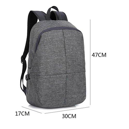 SZH&BEIB Moda Mochila al aire libre Viajes Hombres Mujeres bolsa y mochila para la escuela o en el Trabajo , E A