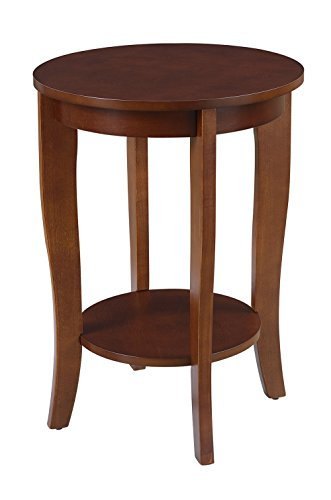 Convenience Concepts 7106259MG American Heritage Accent End Table, (Round End)