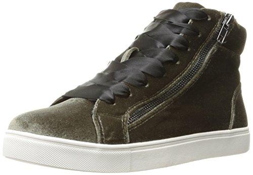 Madden Girl Femmes Eppic Fashion Sneaker Taupe Velours