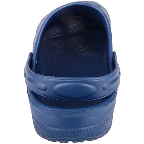 Beach Sandals with Holiday Pool Mules Mens Clogs Navy Absolute Strap Footwear Ankle Summer WHczn