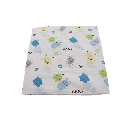 (CoCaLo Baby Peek-a-Boo Monsters Baby Boy Nursery Crib Sheet)