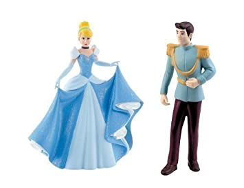 BULLYLAND DISNEY CINDERELLA FIGURES Cinderella and Prince Charming