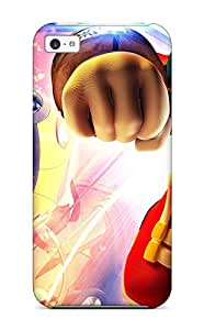 Best 3238767K19790331 Iphone 5c Case Slim [ultra Fit] Sonic Riders 1080p Game Protective Case Cover