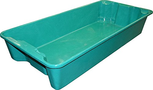 Amazon.com: MFG Tray 780108W5268 Toteline Nest and Stack Container, Glass Fiber Reinforce Plastic Composite with Wire Edge, Capacity 500 lb, ...