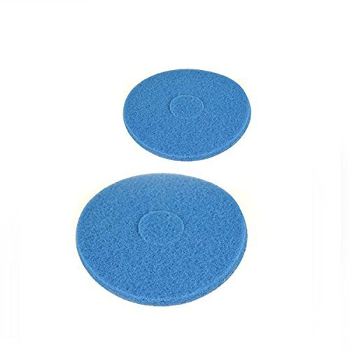 Oreck Vacuum Cleaner Orbitor, Blue Scrub Pad 2-PACK # 437057, 437-057 Top Vacuum Parts